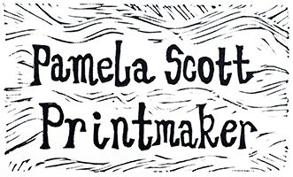 Pamela Scott | Printmaker and illustrator based in Dundee, Scotland, specialising in linocut and screen prints